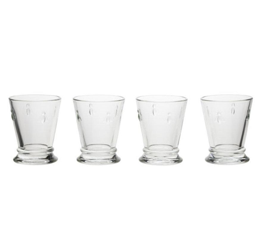 La Rochere Abeille glazen 18 cl, 4 stuks