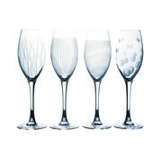 Overige merken Luminarc Lounge club champagneglas 22cl, 4 stuks