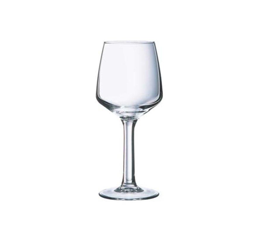 Arcoroc Lineal wijnglas 25cl, 6 stuks
