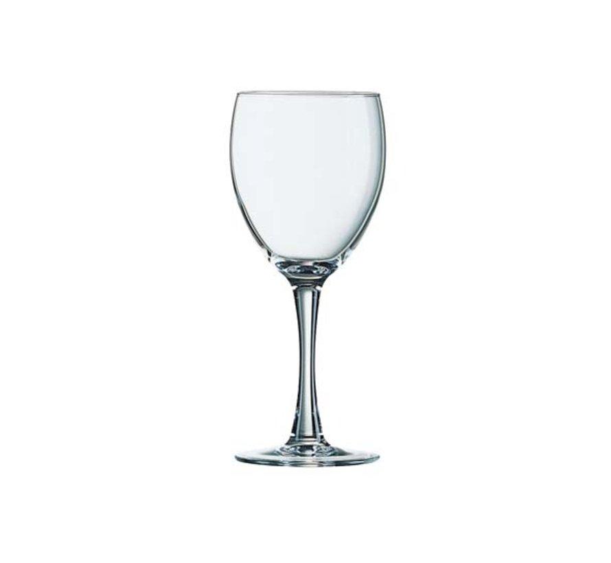 Arcoroc Princesa wijnglas 19cl gehard, 6 stuks