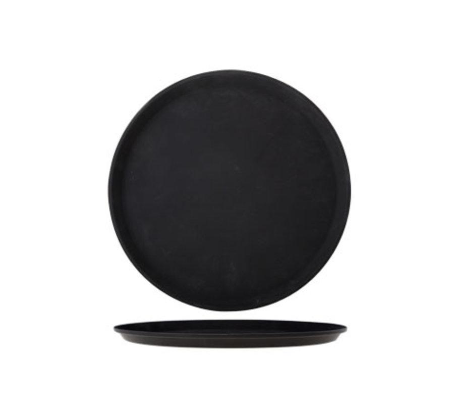 Cosy & Trendy Dienblad 35,5cm rond fiberglass antislip, 1 stuk