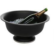 Cosy & Trendy Cosy & Trendy Zwarte champagne-emmer op voet 41x20cm, 1 stuk