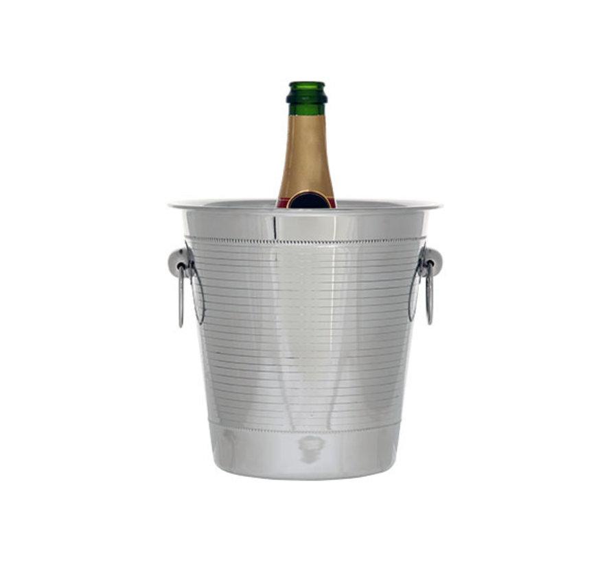 Cosy & Trendy Pearl champagne-emmer 21x21cm, 1 stuk