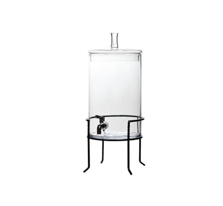 Cosy & Trendy Sapdispenser op voet 7,5 liter d28,5cm, 1 stuk