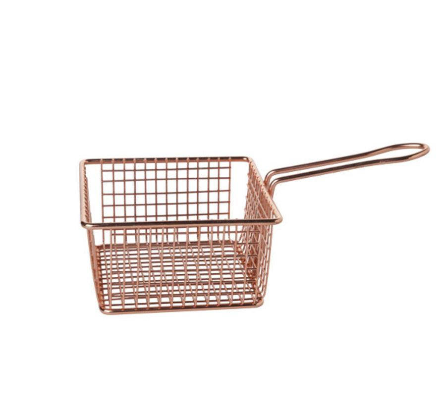 Cosy & Trendy Frietmandje verkoperd 14x14xh7,5cm, 1 stuk