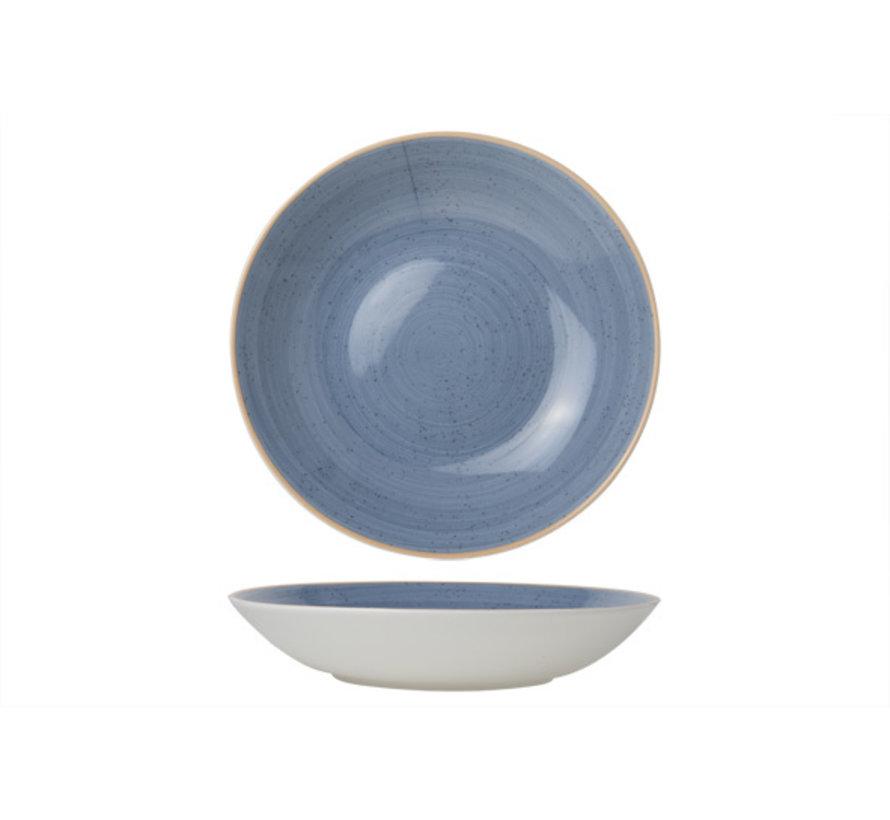 Cosy & Trendy Terra blue diep bord coupe d26cm, 1 stuk