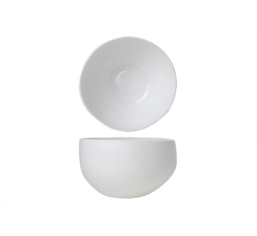 Cosy & Trendy Palissandro witte slakom 26,5x25,5xh14,8, 1 stuk