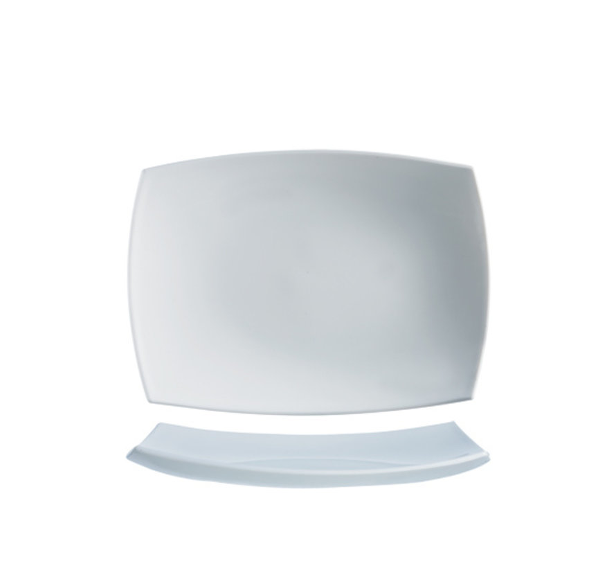 Arcoroc Delice plat bord wit 35x26cm rh, 1 stuk