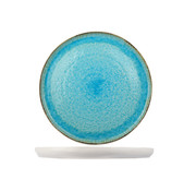 Cosy & Trendy Cosy & Trendy Laguna azzurro plat bord 31cm rond, 1 stuk