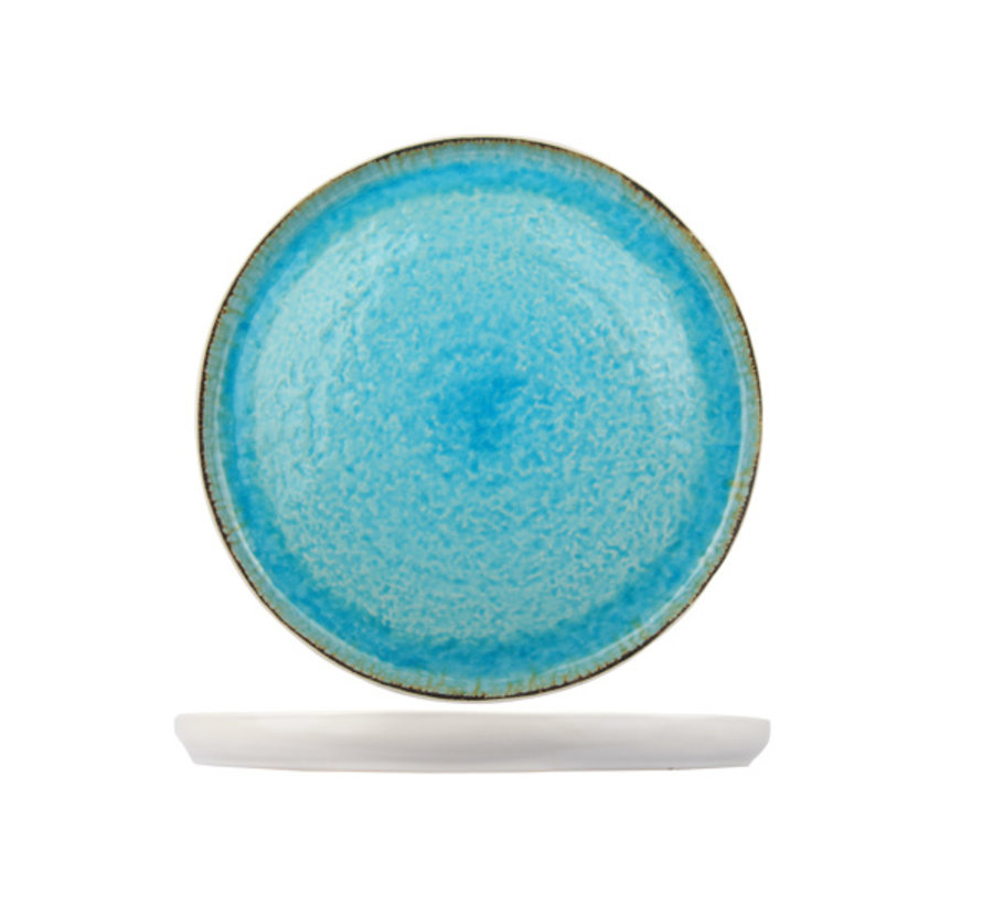 Cosy & Trendy Laguna azzurro plat bord 31cm rond, 1 stuk