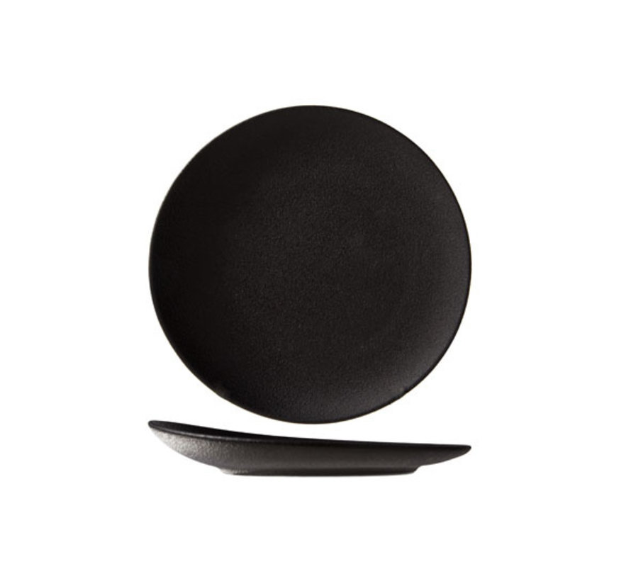Cosy & Trendy Blackstone plat bord rond 18cm elevated, 1 stuk