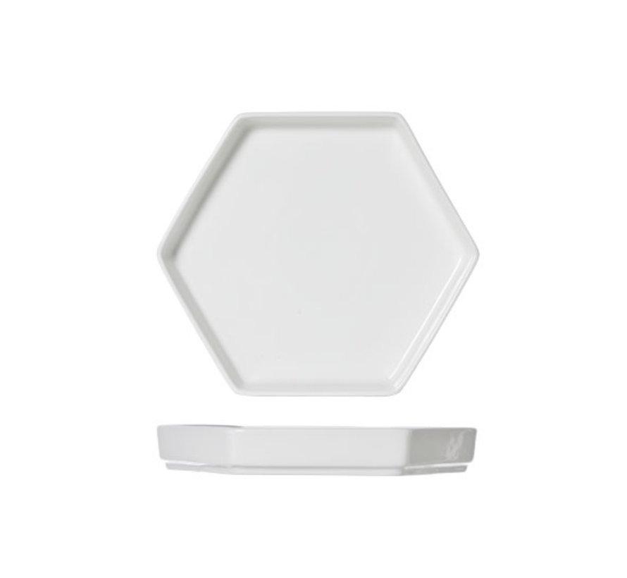 Cosy & Trendy Hive large bord 6-hoekig 20,5x18cm, 1 stuk