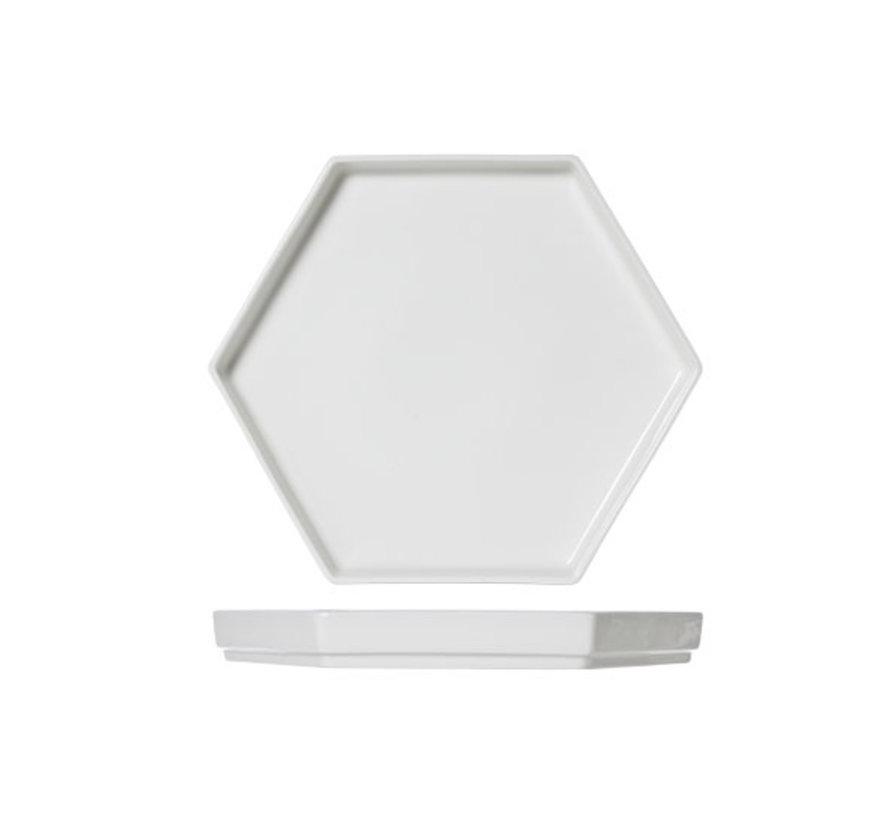 Cosy & Trendy Hive xl bord 6-hoekig 28x24cm, 1 stuk