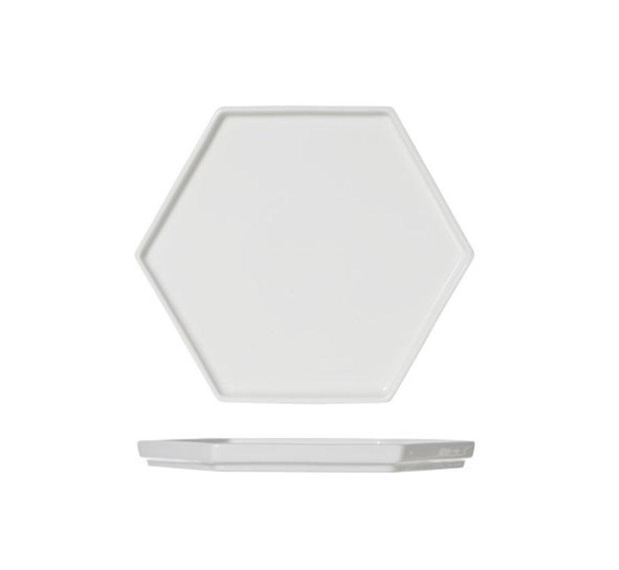 Cosy & Trendy Hive large dienbord 6-hoekig 20,5x18cm, 1 stuk