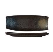 Cosy & Trendy Cosy & Trendy Zwarte yoru schaal rechthoek 33x12cm, 1 stuk