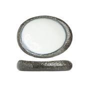 Cosy & Trendy Cosy & Trendy Sea pearl schaal ovaal 32x24cm, 1 stuk