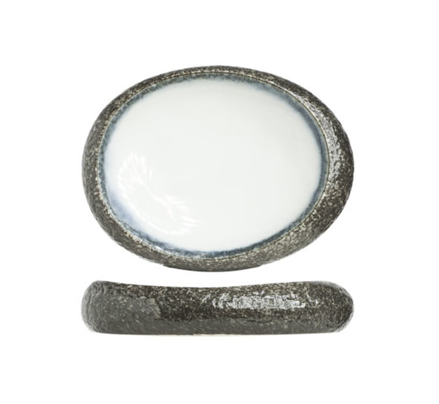 Cosy & Trendy Sea pearl schaal ovaal 32x24cm, 1 stuk