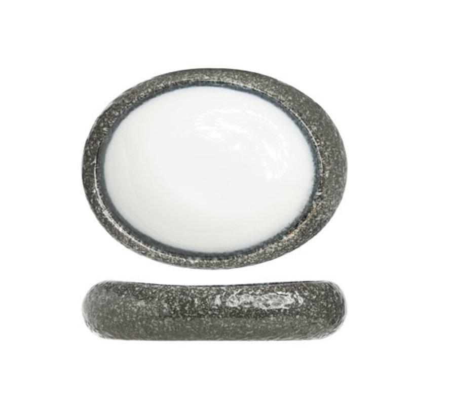 Cosy & Trendy Sea pearl schaal ovaal 24x21cm, 1 stuk