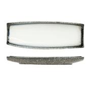 Cosy & Trendy Cosy & Trendy Sea pearl schaal rechthoek 33x12cm, 1 stuk