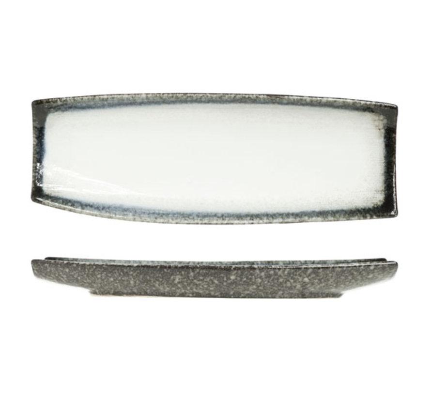 Cosy & Trendy Sea pearl schaal rechthoek 33x12cm, 1 stuk