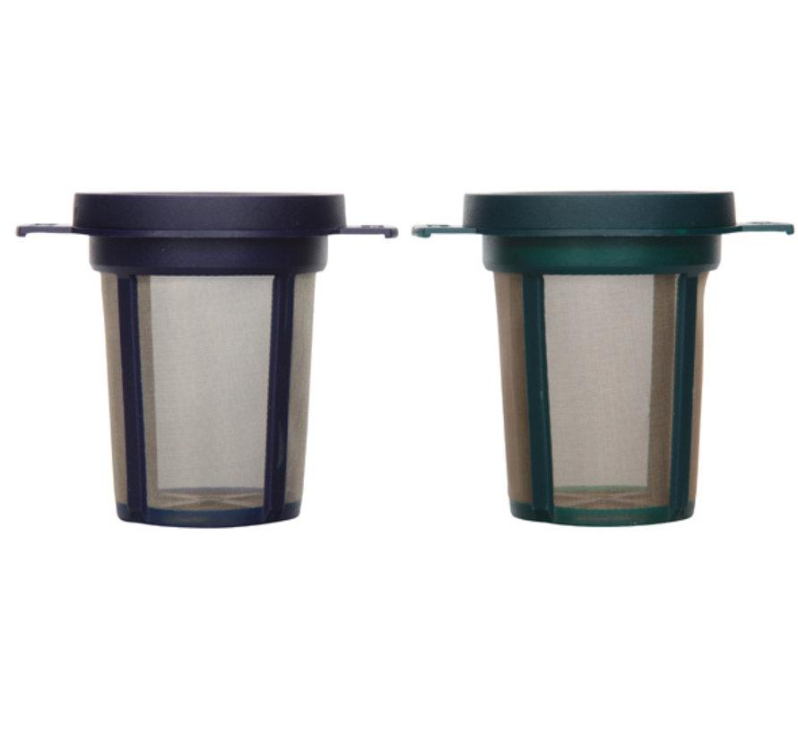 Goldton filters blauw/groen, 2 stuks