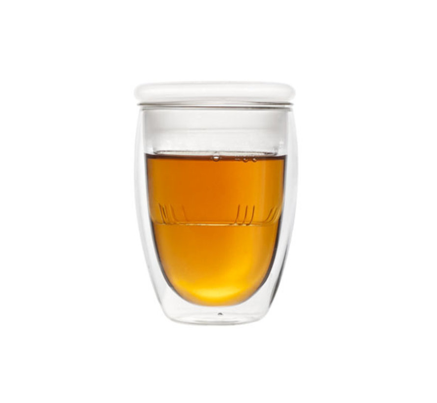 Cosy & Trendy Isolate thee glas 280ml, 1 stuk