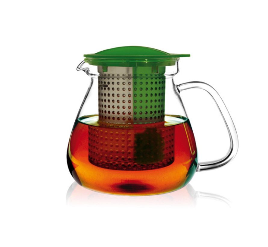 Tea control groen 1L warmte resistent, 1 stuk