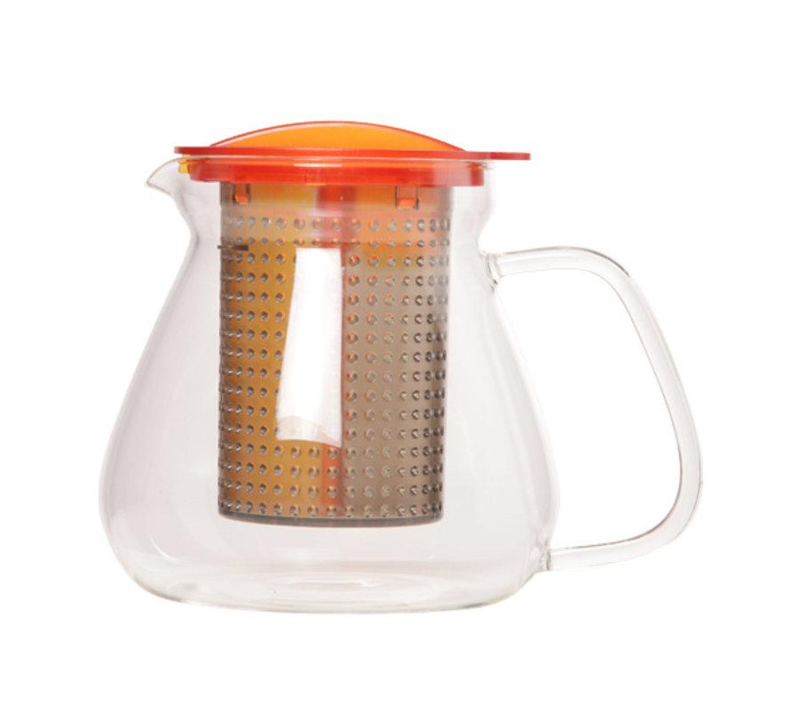 Tea control amber 1L warmte resistent, 1 stuk