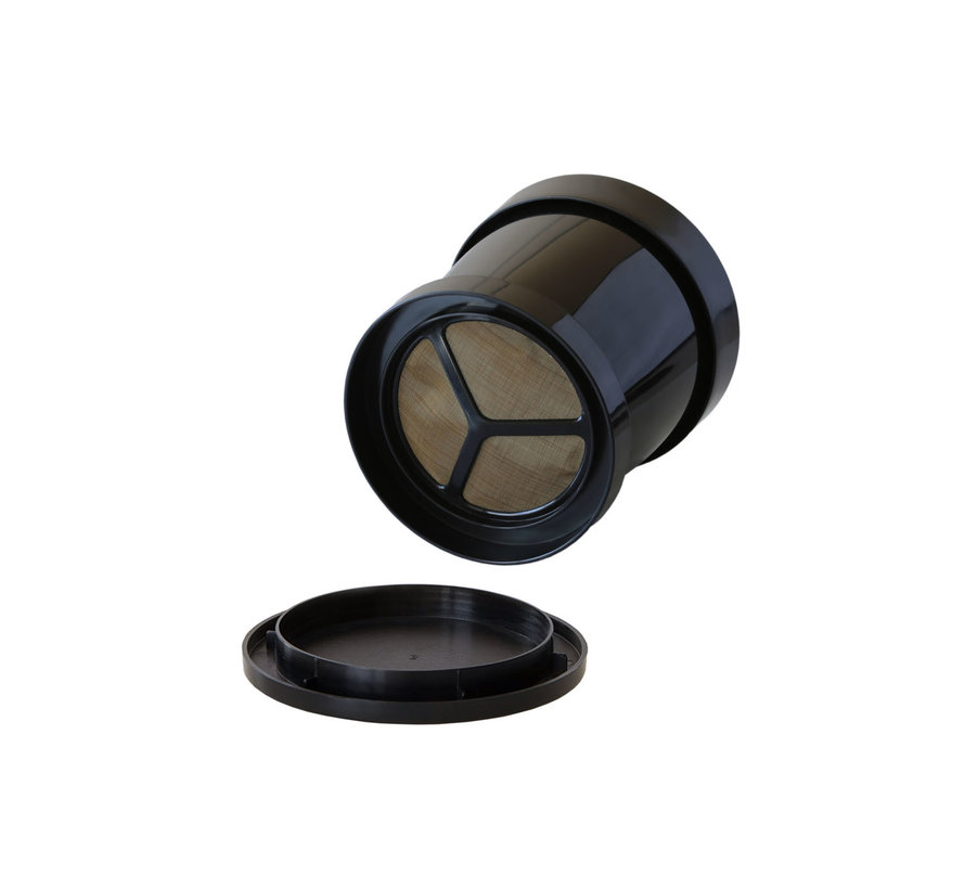 Koffie sprinter buitendiameter 9,2cm h10,5cm, 1 stuk