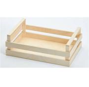 Overige merken Bisetti Krat houten box l 30x20x10cm, 1 stuk
