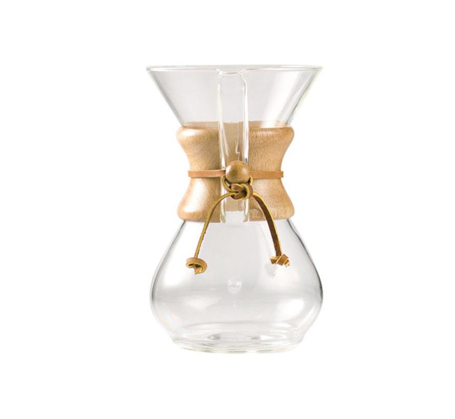 Chemex Chemex classic coffee maker 6cup, 1 stuk