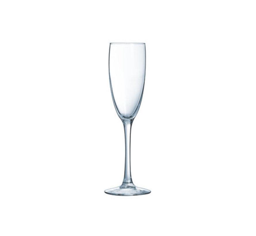 Arcoroc Vina champagneglas 19cl, 6 stuks