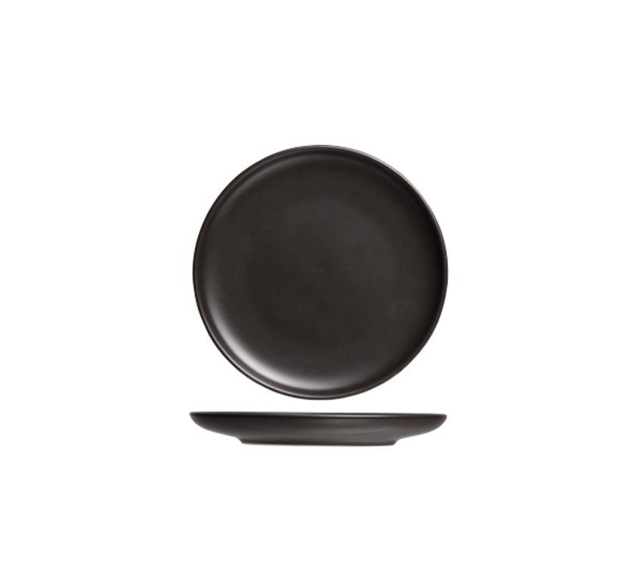 Cosy & Trendy Okinawa plat bord zwart d15xh1,7cm, 1 stuk