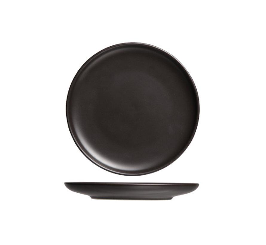 Cosy & Trendy Okinawa plat bord zwart d23,3xh2,5cm, 1 stuk