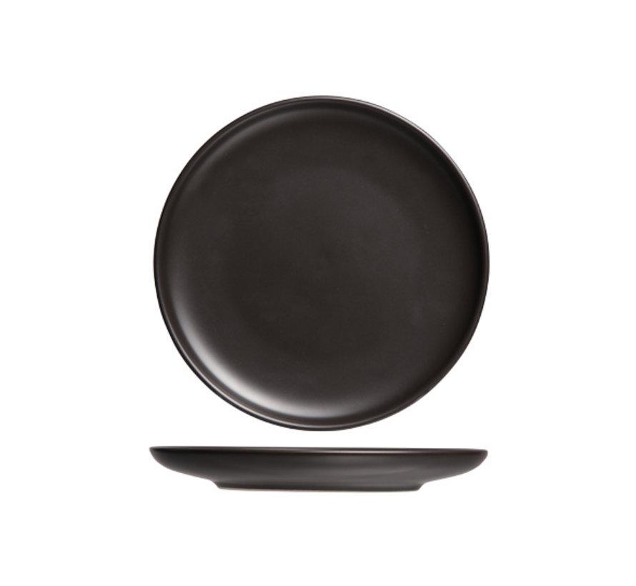 Cosy & Trendy Okinawa plat bord zwart d30,4xh2,6cm, 1 stuk