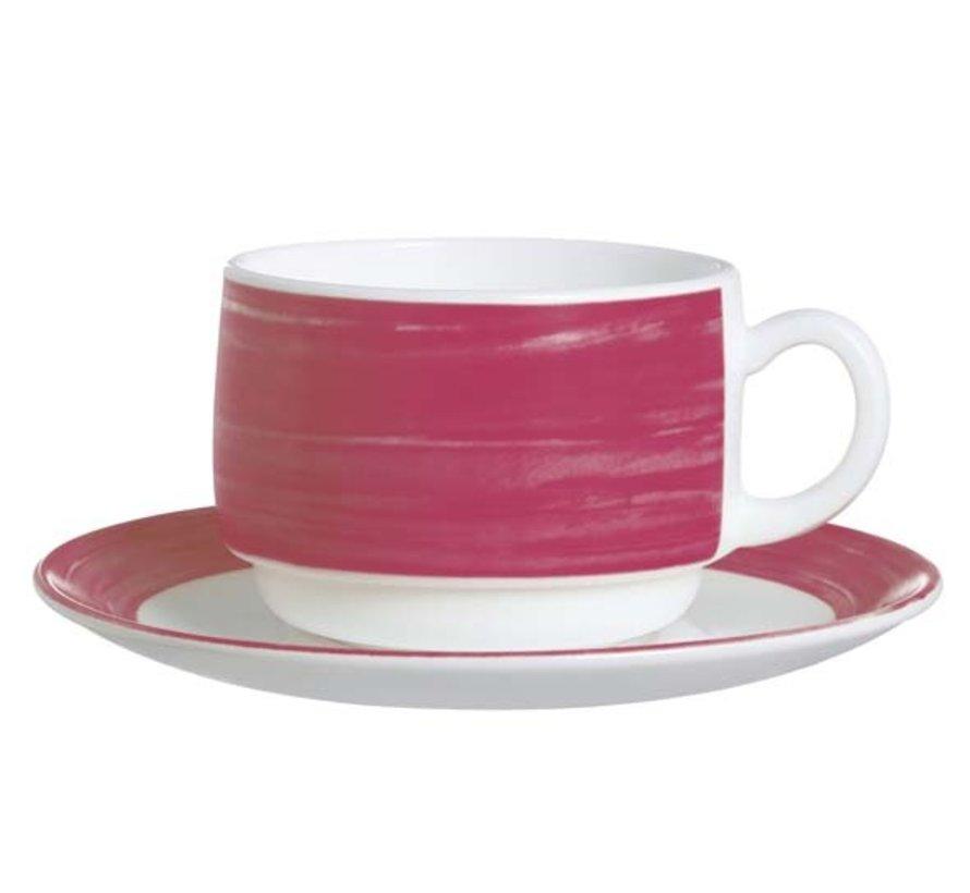Arcoroc Brush rood/roze schotel 140