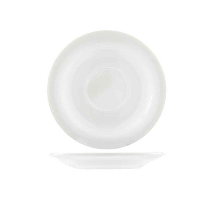 Arcoroc Restaurant uni schotel 14cm voor kop 19