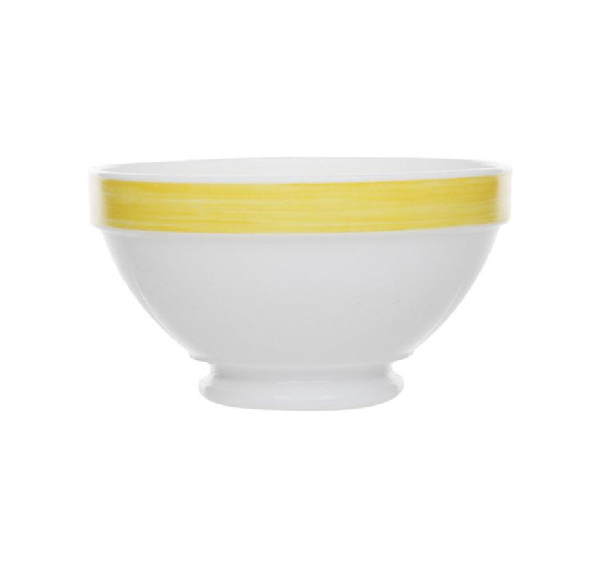Arcoroc Brush bol geel 13cm, 1 stuk
