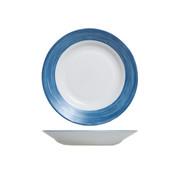Arcoroc Arcoroc Brush diep bord jeansblauw, 1 stuk