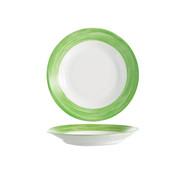 Arcoroc Arcoroc Brush diep bord groen 22,5cm, 1 stuk
