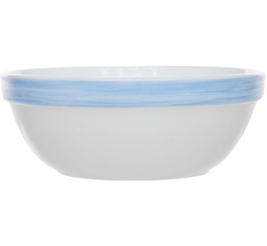 Arcoroc Brush blauw saladier 12 **, 1 stuk