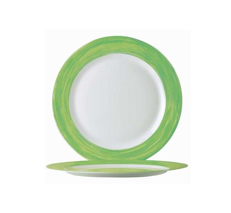 Arcoroc Brush groen broodbord 155, 1 stuk