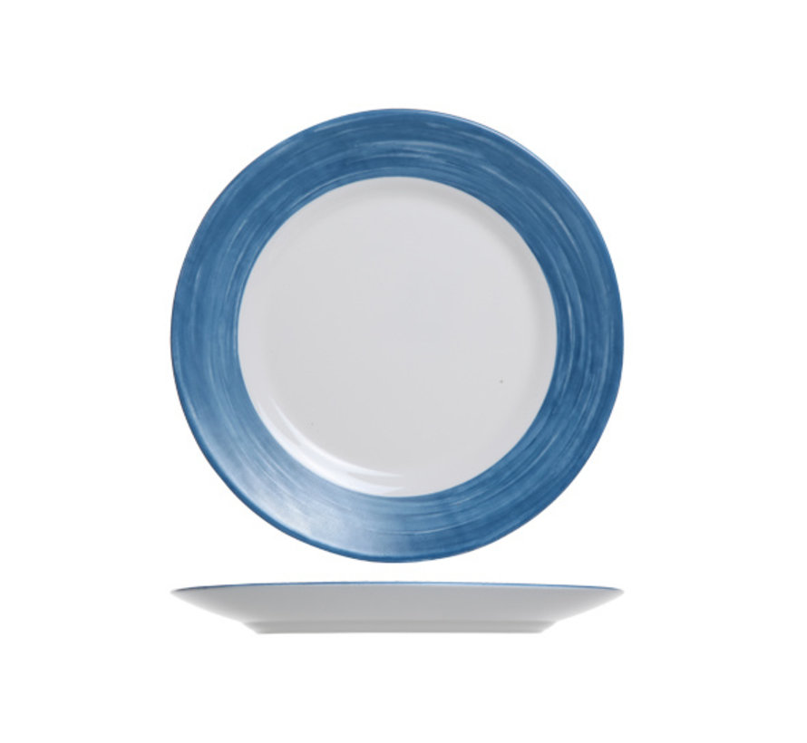 Arcoroc Brush dessertbord jeansblauw 19cm, 1 stuk
