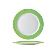 Arcoroc Arcoroc Brush dessertbord groen 19cm, 1 stuk