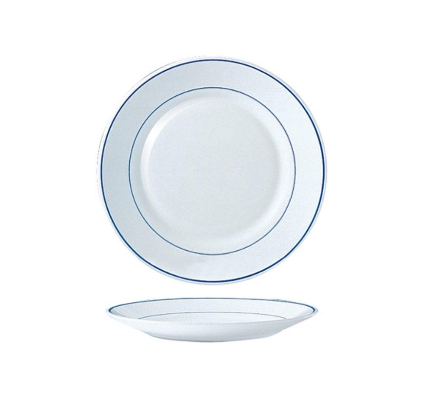 Arcoroc Restaurant delft dessertbord horeca, 1 stuk