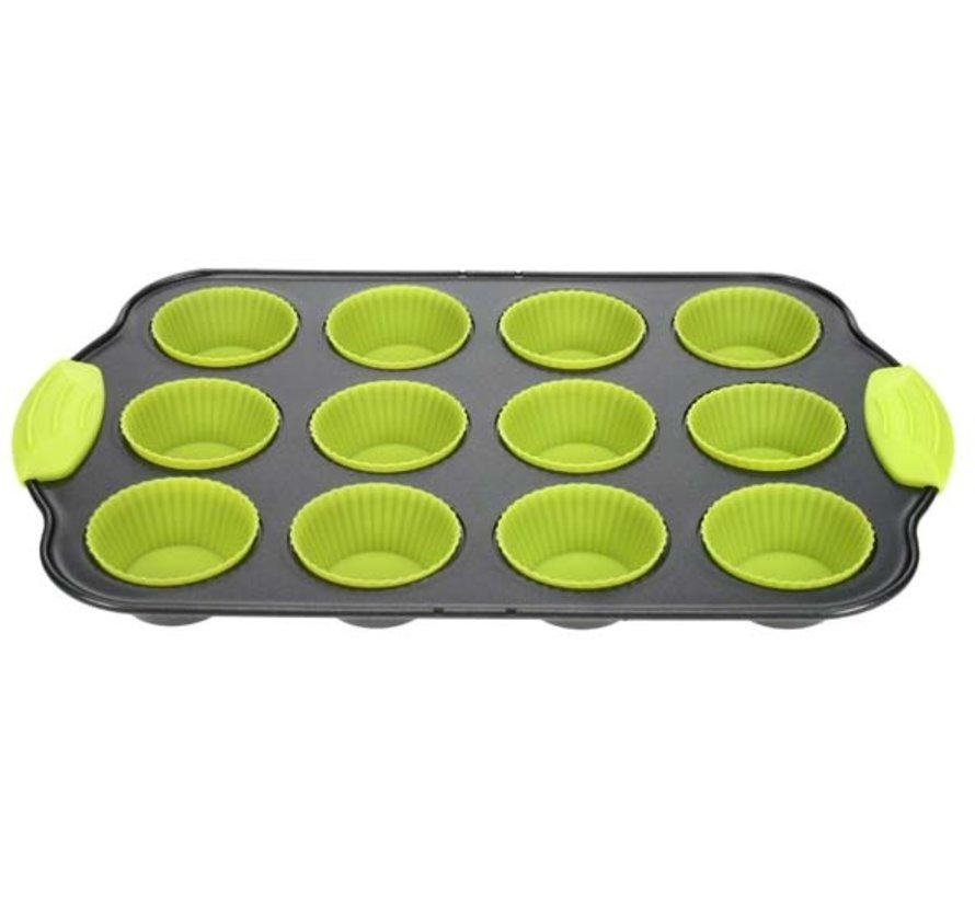 Cosy & Trendy Bakvorm 12 muffins, 1 stuk
