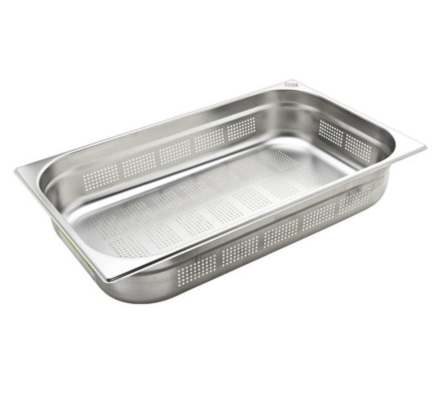 Cosy & Trendy Ct prof gastronormbakk geperforeerd gn1/1 h100mm, 1 stuk