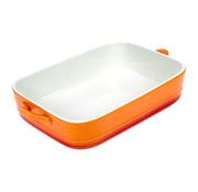 Cosy & Trendy Cosy & Trendy Orange gratinschotel 1,5l 26,5x19x5,5cm, 1 stuk