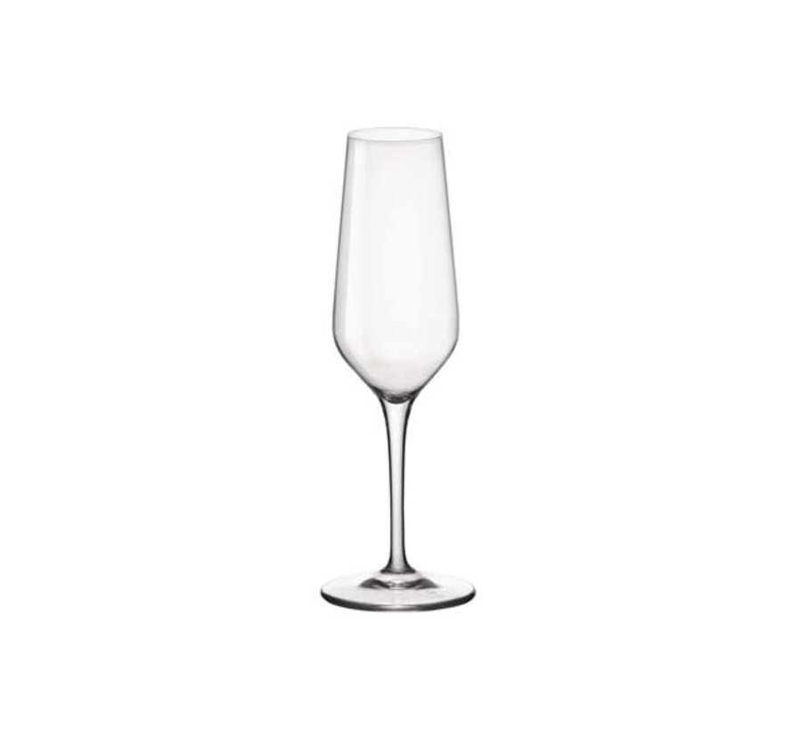 Bormioli Electra champagneglas 23cl, 6 stuks