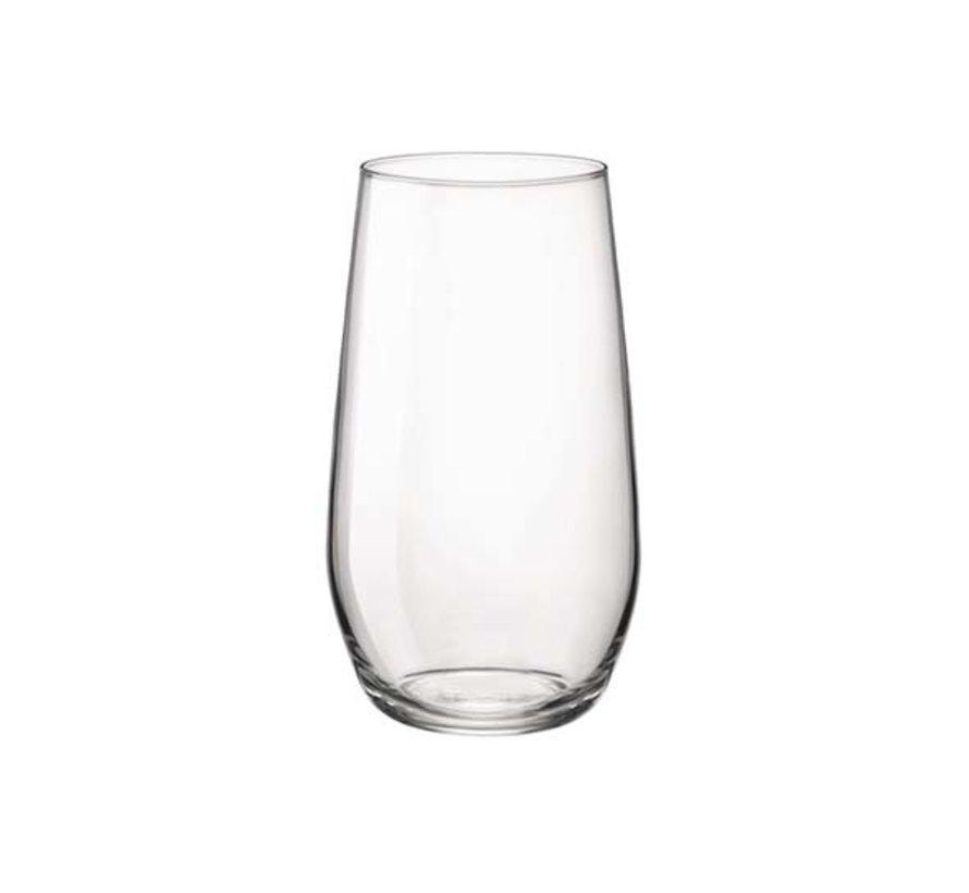 Bormioli Electra waterglas 39cl, 6 stuks
